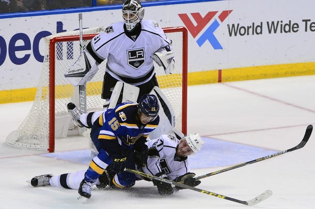 Los Angeles Kings vs. St. Louis Blues - 1/12/17 NHL Pick, Odds, and Prediction