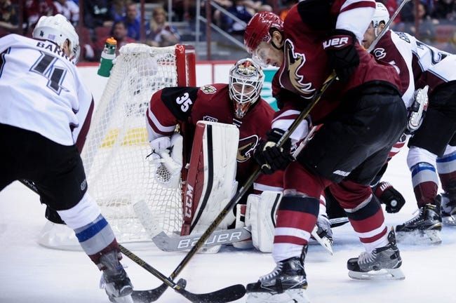 Colorado Avalanche vs. Arizona Coyotes - 11/8/16 NHL Pick, Odds, and Prediction