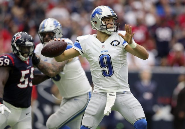 Detroit Lions at Minnesota Vikings - 11/6/16 NFL Pick, Odds, and Prediction