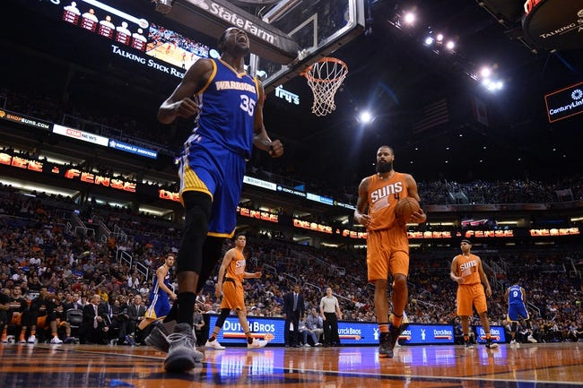 Golden State Warriors vs. Phoenix Suns - 11/13/16 NBA Pick, Odds, and Prediction