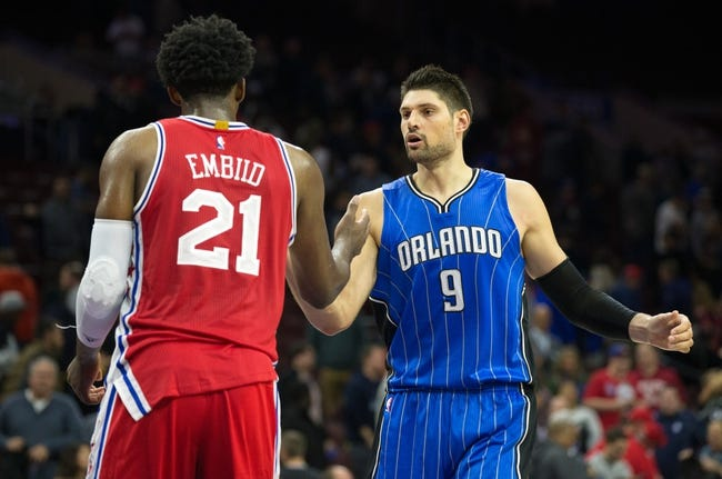 Philadelphia 76ers vs. Orlando Magic - 12/2/16 NBA Pick, Odds, and Prediction