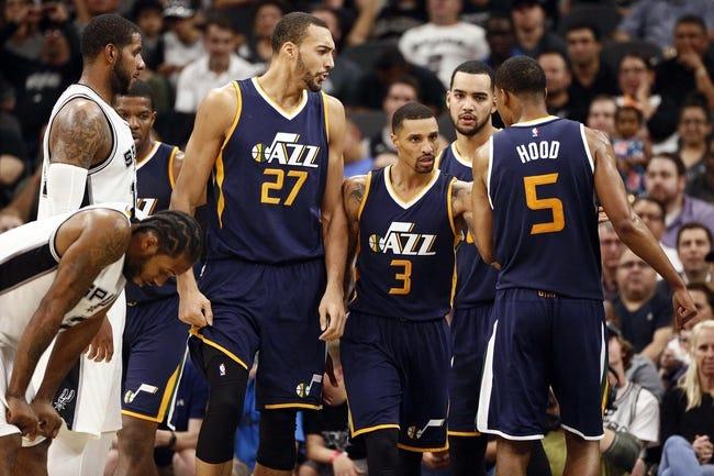 Utah Jazz vs. San Antonio Spurs - 11/4/16 NBA Pick, Odds, and Prediction