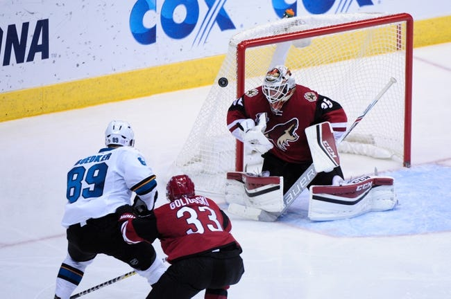 Arizona Coyotes vs. San Jose Sharks - 11/19/16 NHL Pick, Odds, and Prediction