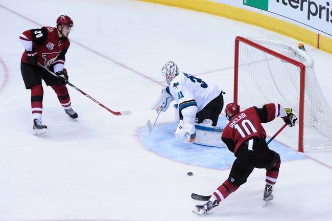 San Jose Sharks vs. Arizona Coyotes - 11/29/16 NHL Pick, Odds, and Prediction