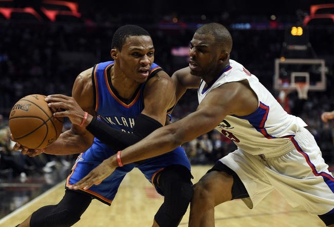 Oklahoma City Thunder vs. Los Angeles Clippers - 11/11/16 NBA Pick, Odds, and Prediction