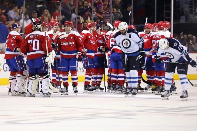 Winnipeg Jets vs. Washington Capitals - 2/13/18 NHL Pick, Odds, and Prediction