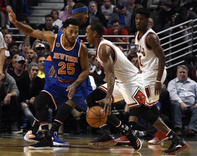 New York Knicks vs. Chicago Bulls - 1/12/17 NBA Pick, Odds, and Prediction