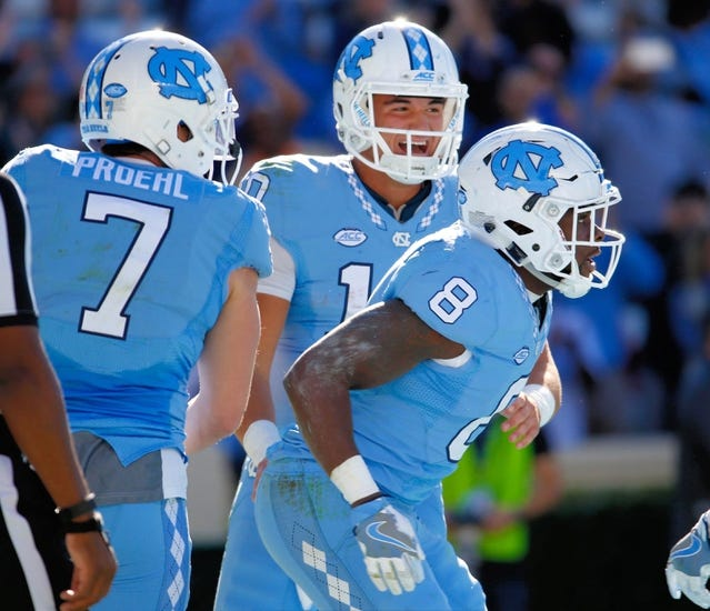 Duke Blue Devils vs. North Carolina Tar Heels - 11/10/16 College Football Pick, Odds, and Prediction