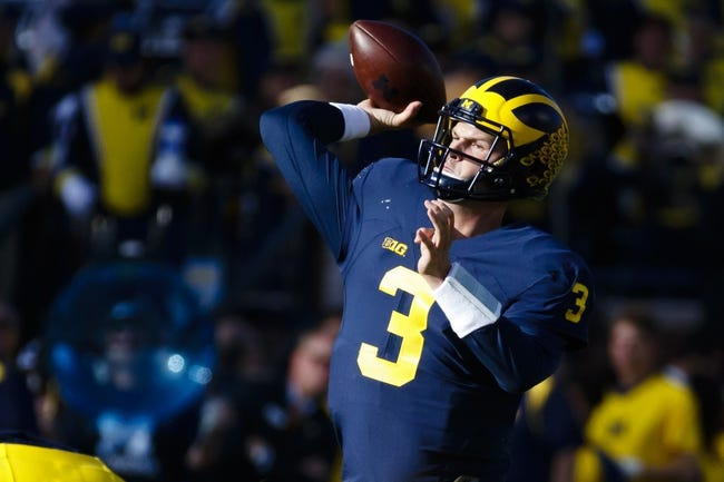 Michigan Wolverines at Iowa Hawkeyes - 11/12/16 College Football Pick, Odds, and Prediction