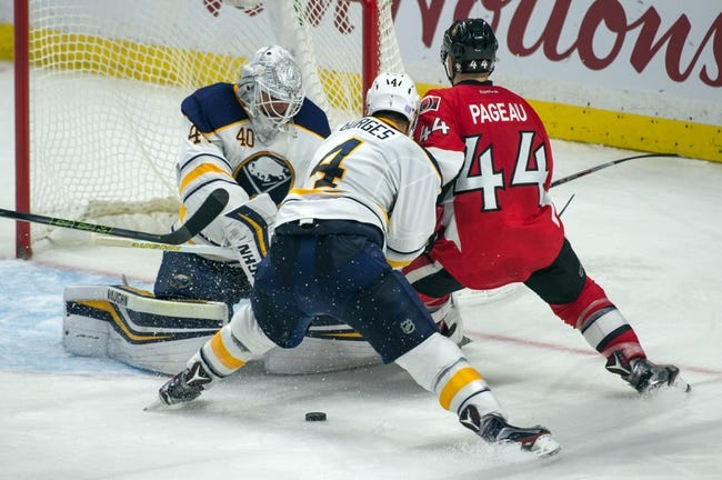 Buffalo Sabres vs. Ottawa Senators - 11/9/16 NHL Pick, Odds, and Prediction