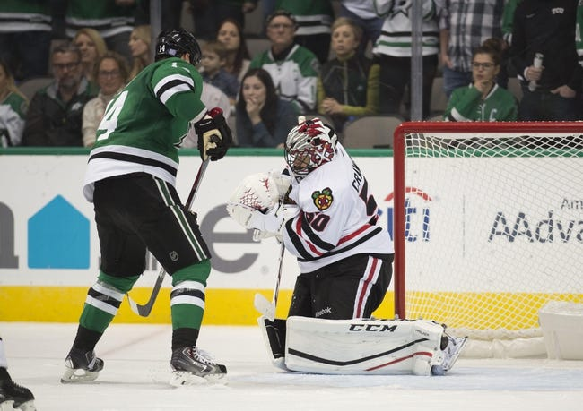 Chicago Blackhawks vs. Dallas Stars - 11/6/16 NHL Pick, Odds, and Prediction