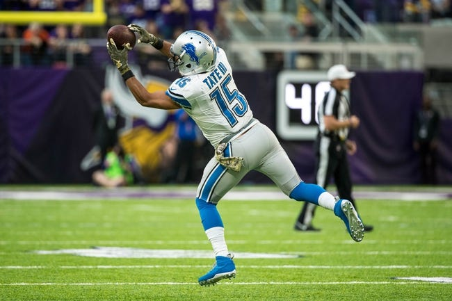 Jacksonville Jaguars at Detroit Lions - 11/20/16 NFL Pick, Odds, and Prediction