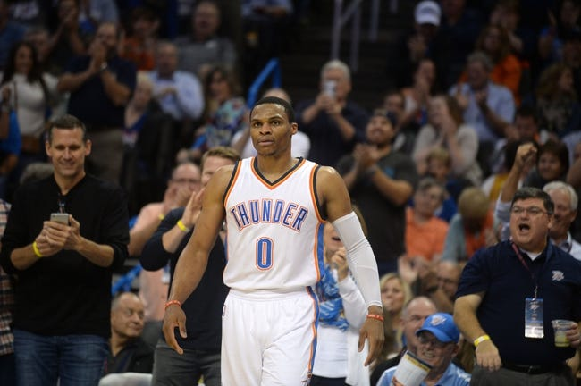 Oklahoma City Thunder vs. Toronto Raptors - 11/9/16 NBA Pick, Odds, and Prediction