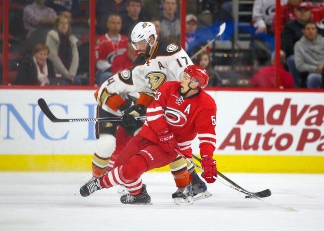 NHL | Anaheim Ducks (5-4-1) at Carolina Hurricanes (4-4-1)