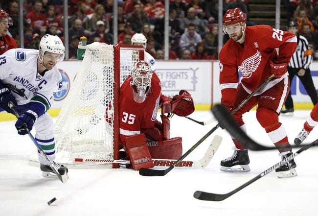 Red Wings Trade Smith to Rangers