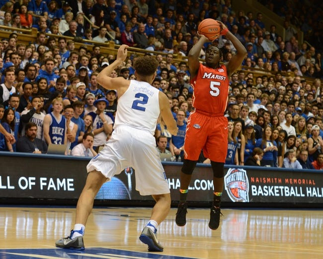 Marist Red Foxes vs. Niagara Purple Eagles - 12/2/16 College Basketball Pick, Odds, and Prediction