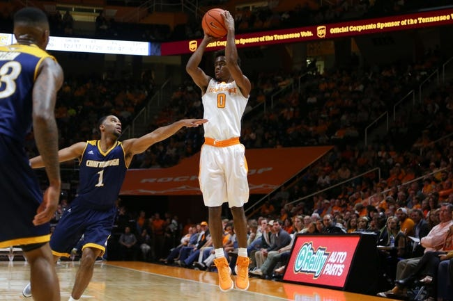 Tennessee Volunteers vs. Appalachian State Mountaineers - 11/15/16 College Basketball Pick, Odds, and Prediction