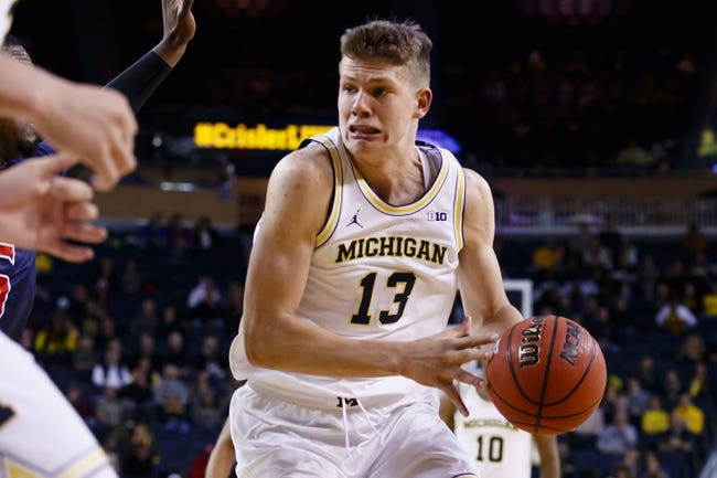 Michigan Wolverines vs. IUPUI Jaguars - 11/13/16 College Basketball Pick, Odds, and Prediction