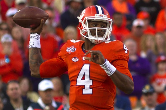 Wake Forest Demon Deacons vs. Clemson Tigers - 11/19/16 College Football Pick, Odds, and Prediction