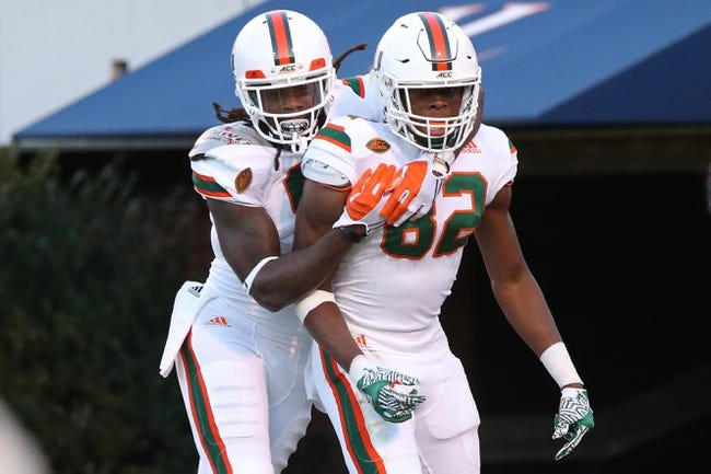 CFB | Duke Blue Devils (4-7) at Miami-FL Hurricanes (7-4)