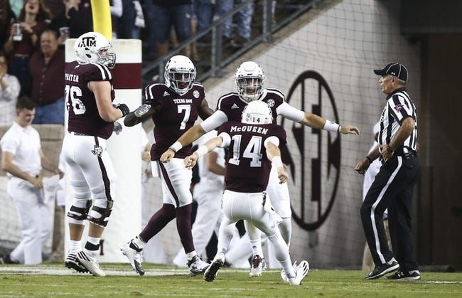Texas A&M vs. UTSA - 11/19/16 College Football Pick, Odds, and Prediction