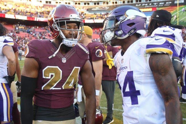 Minnesota Vikings at Washington Redskins - 11/12/17 NFL Pick, Odds, and Prediction