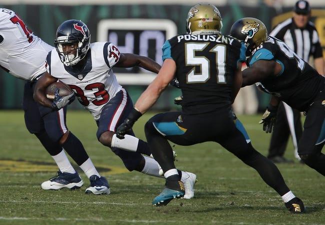 Houston Texans vs. Jacksonville Jaguars - 12/18/16 NFL Pick, Odds, and Prediction