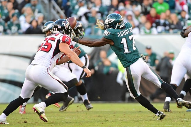 Atlanta Falcons at Philadelphia Eagles - 1/13/18 NFL Pick, Odds, and Prediction