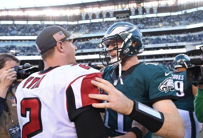 Philadelphia Eagles vs. Atlanta Falcons - 1/13/18 NFL Pick, Odds, and Prediction