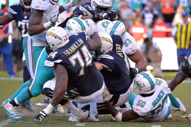 Los Angeles Chargers vs. Miami Dolphins - 9/17/17 NFL Pick, Odds, and Prediction