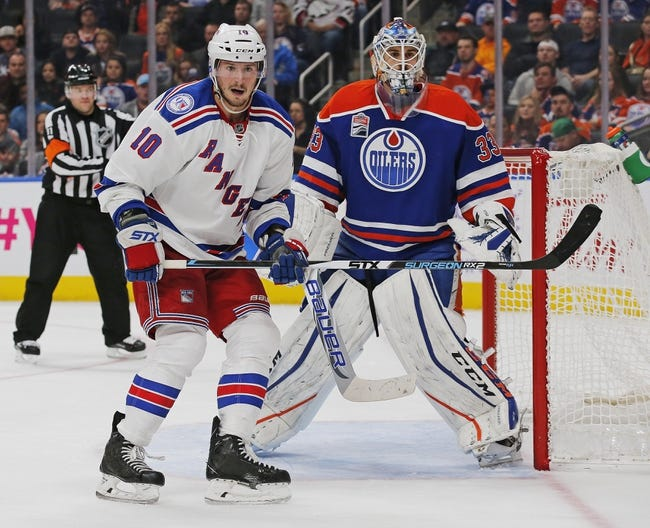 New York Rangers vs. Edmonton Oilers - 11/11/17 NHL Pick, Odds, and Prediction