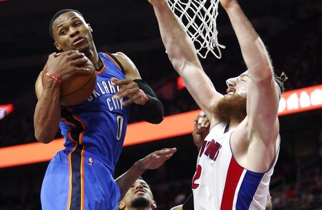 Oklahoma City Thunder vs. Detroit Pistons - 11/26/16 NBA Pick, Odds, and Prediction