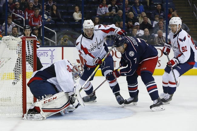 Washington Capitals vs. Columbus Blue Jackets - 11/20/16 NHL Pick, Odds, and Prediction