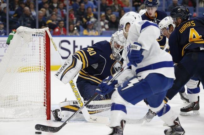 Tampa Bay Lightning vs. Buffalo Sabres - 1/12/17 NHL Pick, Odds, and Prediction