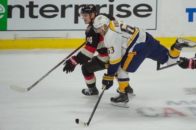 NHL | Nashville Predators (32-12-8) at Ottawa Senators (18-25-9)