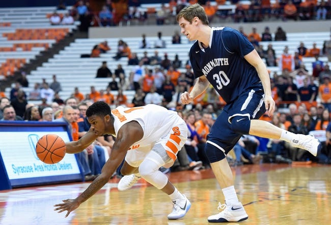 Monmouth Hawks vs. Cornell Big Red - 11/22/16 College Basketball Pick, Odds, and Prediction