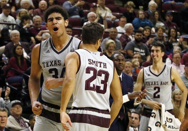 Cal State-Northridge vs. Texas A&M - 11/24/16 College Basketball Pick, Odds, and Prediction