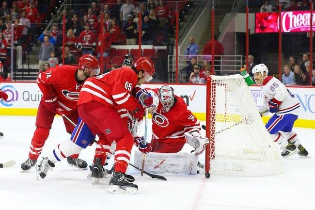 Montreal Canadiens vs. Carolina Hurricanes - 11/24/16 NHL Pick, Odds, and Prediction