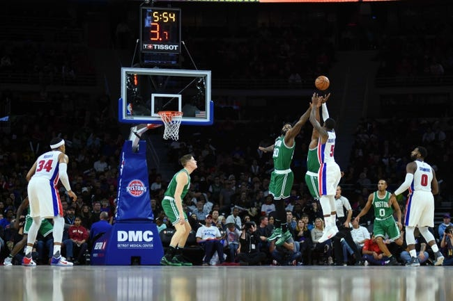Boston Celtics vs. Detroit Pistons - 11/30/16 NBA Pick, Odds, and Prediction