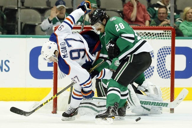 Oilers hit outer-orbit in 7-1 win over visiting Stars