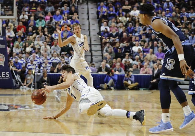 Rhode Island Rams vs. Belmont Bruins - 11/25/16 College Basketball Pick, Odds, and Prediction
