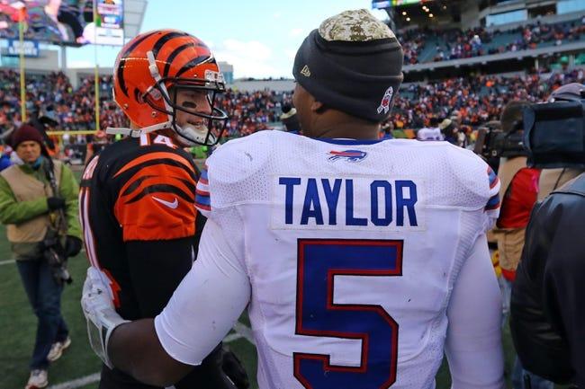 Buffalo Bills at Cincinnati Bengals - 10/8/17 NFL Pick, Odds, and Prediction