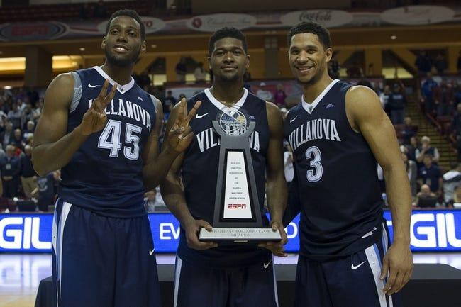 Villanova vs. College of Charleston - 11/23/16 College Basketball Pick, Odds, and Prediction