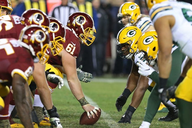 Washington Redskins vs. Green Bay Packers - 8/19/17 NFL Pick, Odds, and Prediction