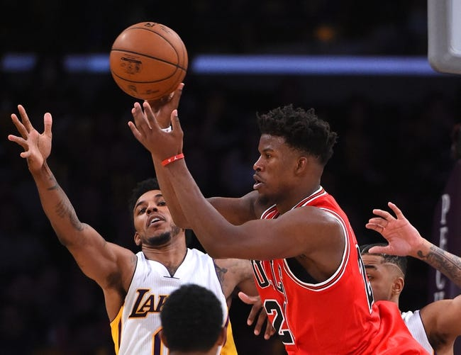 Chicago Bulls vs. Los Angeles Lakers - 11/30/16 NBA Pick, Odds, and Prediction