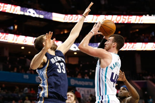 Memphis Grizzlies vs. Charlotte Hornets - 11/28/16 NBA Pick, Odds, and Prediction
