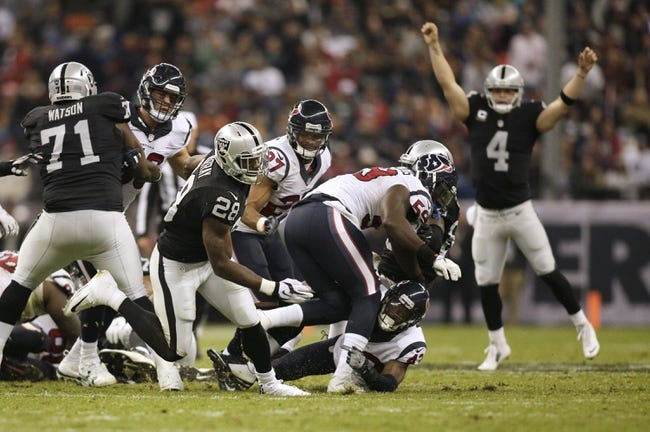 NFL | Oakland Raiders (12-4) at Houston Texans (9-7)
