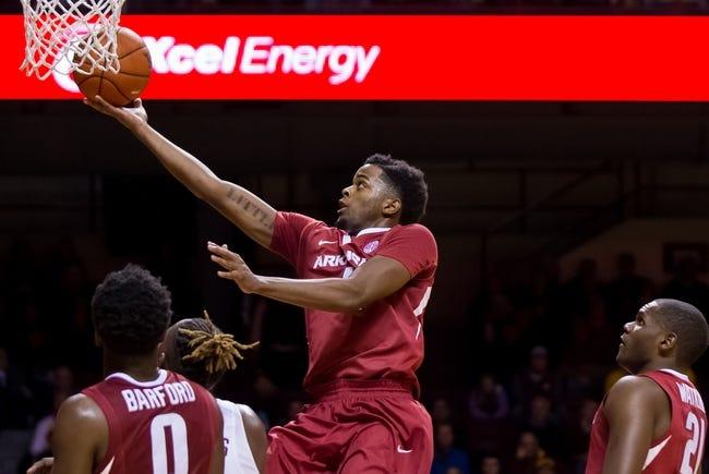 Arkansas Razorbacks vs. Stephen F. Austin Lumberjacks - 12/1/16 College Basketball Pick, Odds, and Prediction