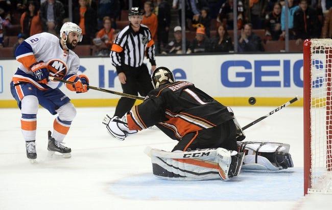 Anaheim Ducks vs. New York Islanders - 10/11/17 NHL Pick, Odds, and Prediction