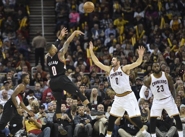 Portland Trail Blazers vs. Cleveland Cavaliers - 1/11/17 NBA Pick, Odds, and Prediction